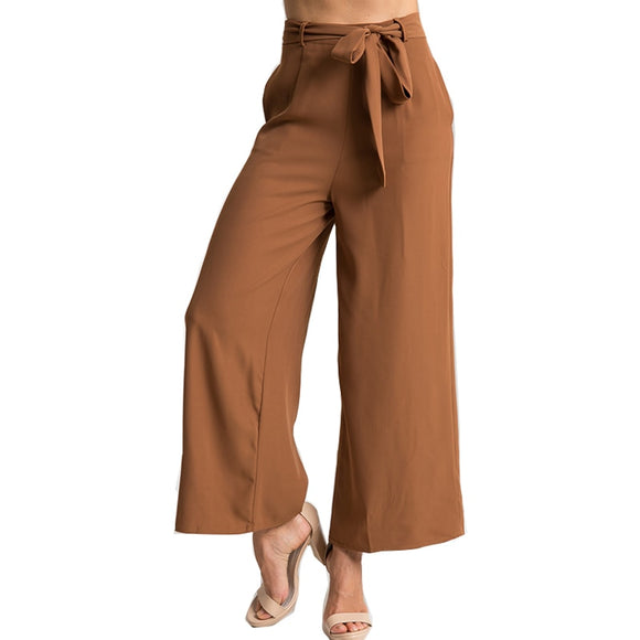 Elegant Solid Wide Leg Pants Trousers Fashion Trousers For Women