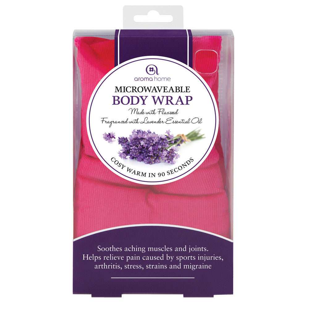 Fushia Soothing Microwave Body Wrap