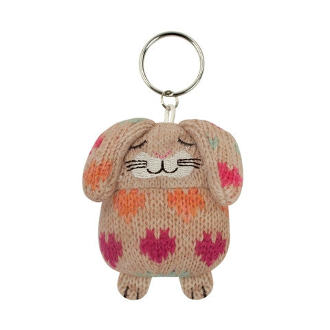 Knitted Rabbit Keyring