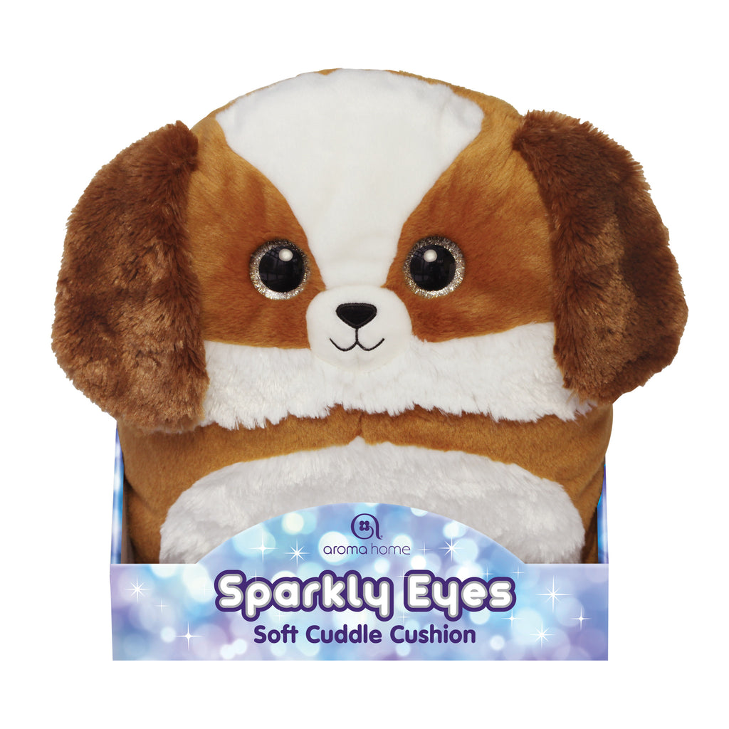 Sparkly Eyes Cuddle Cushion Dog