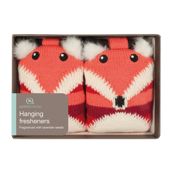 Knitted Fox Drawer Fresheners