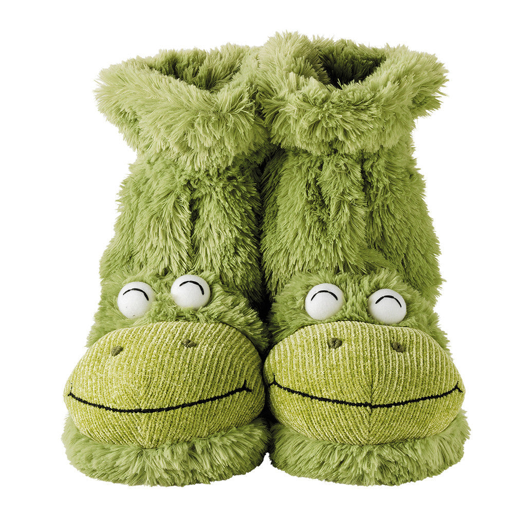 Frog Fun For Feet Slipper Socks