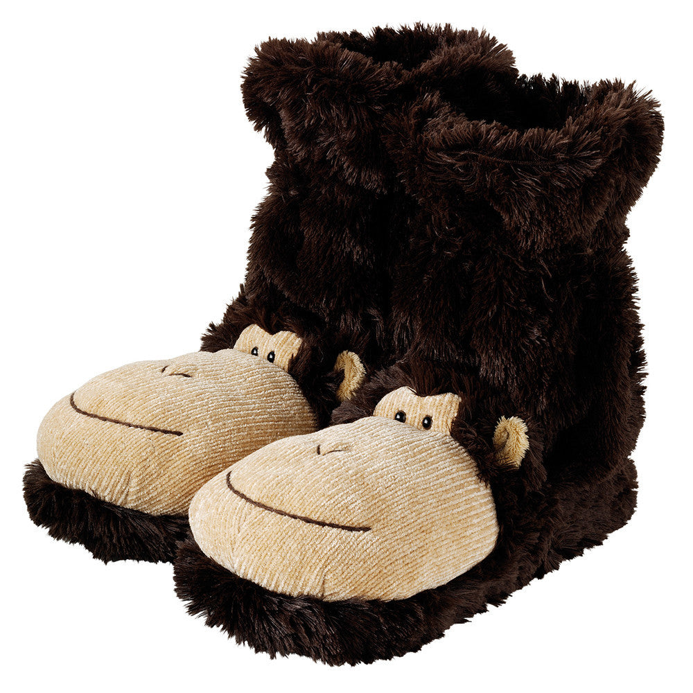Monkey Fun For Feet Slipper Socks