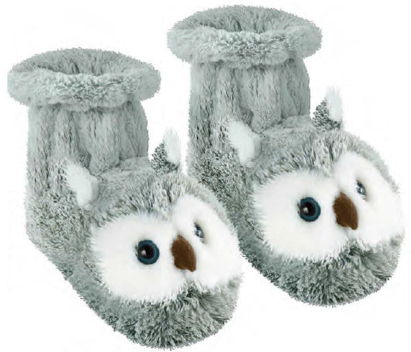 Snowy Owl Fun For Feet Slipper Socks
