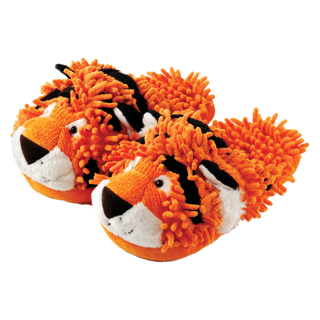 Tiger Fuzzy Friends Slippers