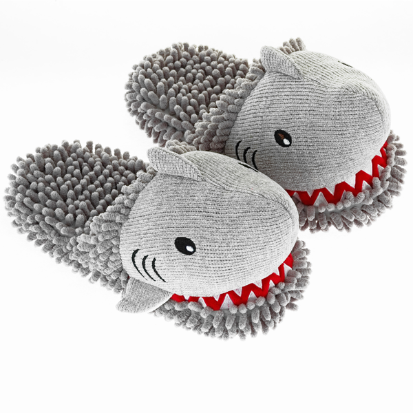 Shark Fuzzy Friends Slippers