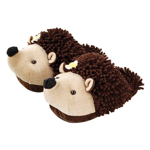 Hedgehog Fuzzy Friends Slippers
