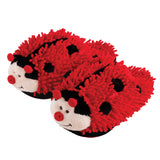 Kids Ladybug Fuzzy Friends Slippers