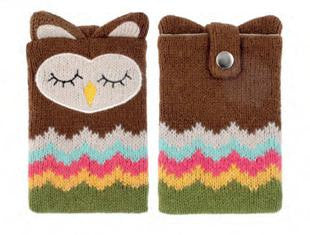 Knitted Owl Phone Case