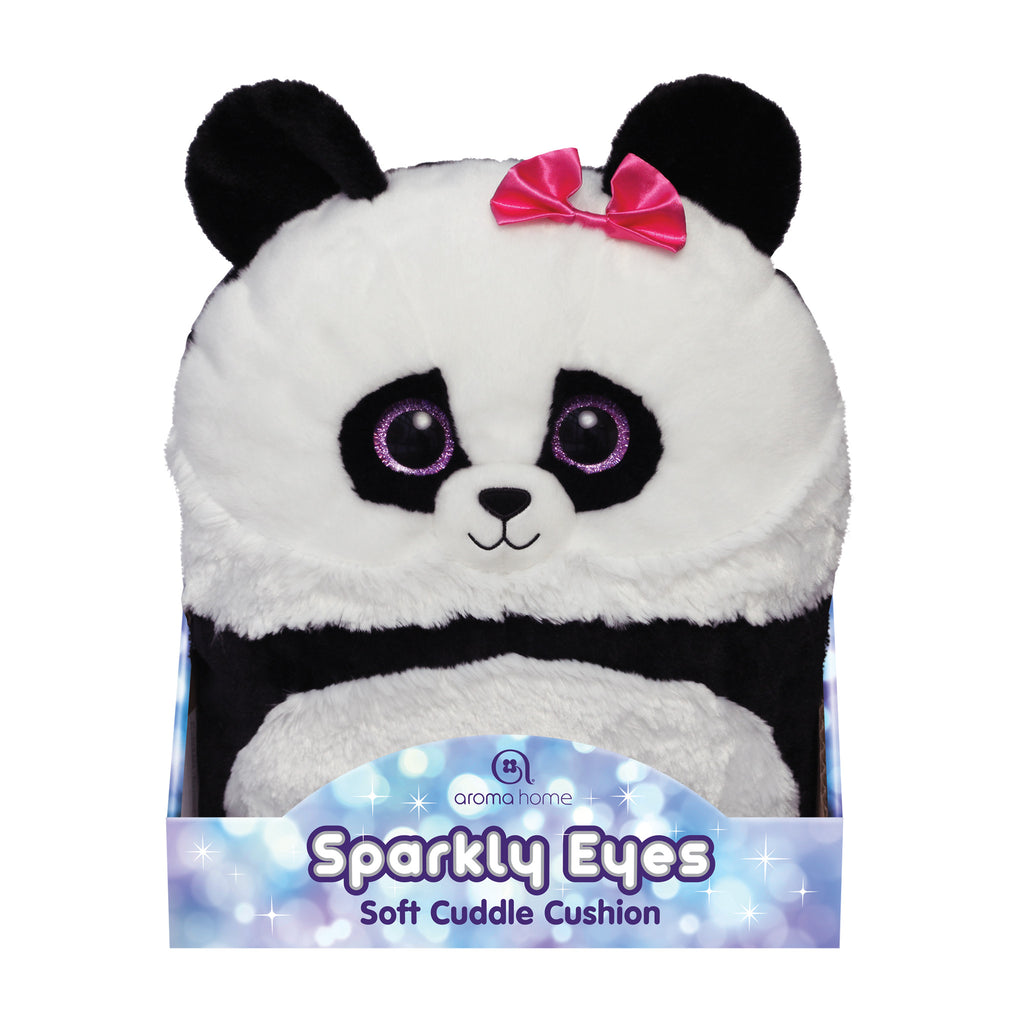 Sparkly Eyes Cuddle Cushion Panda