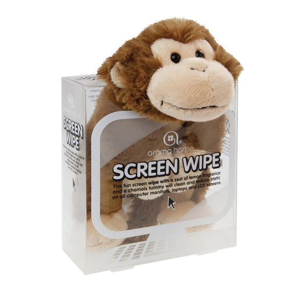 Monkey Novelty Screen Wipe