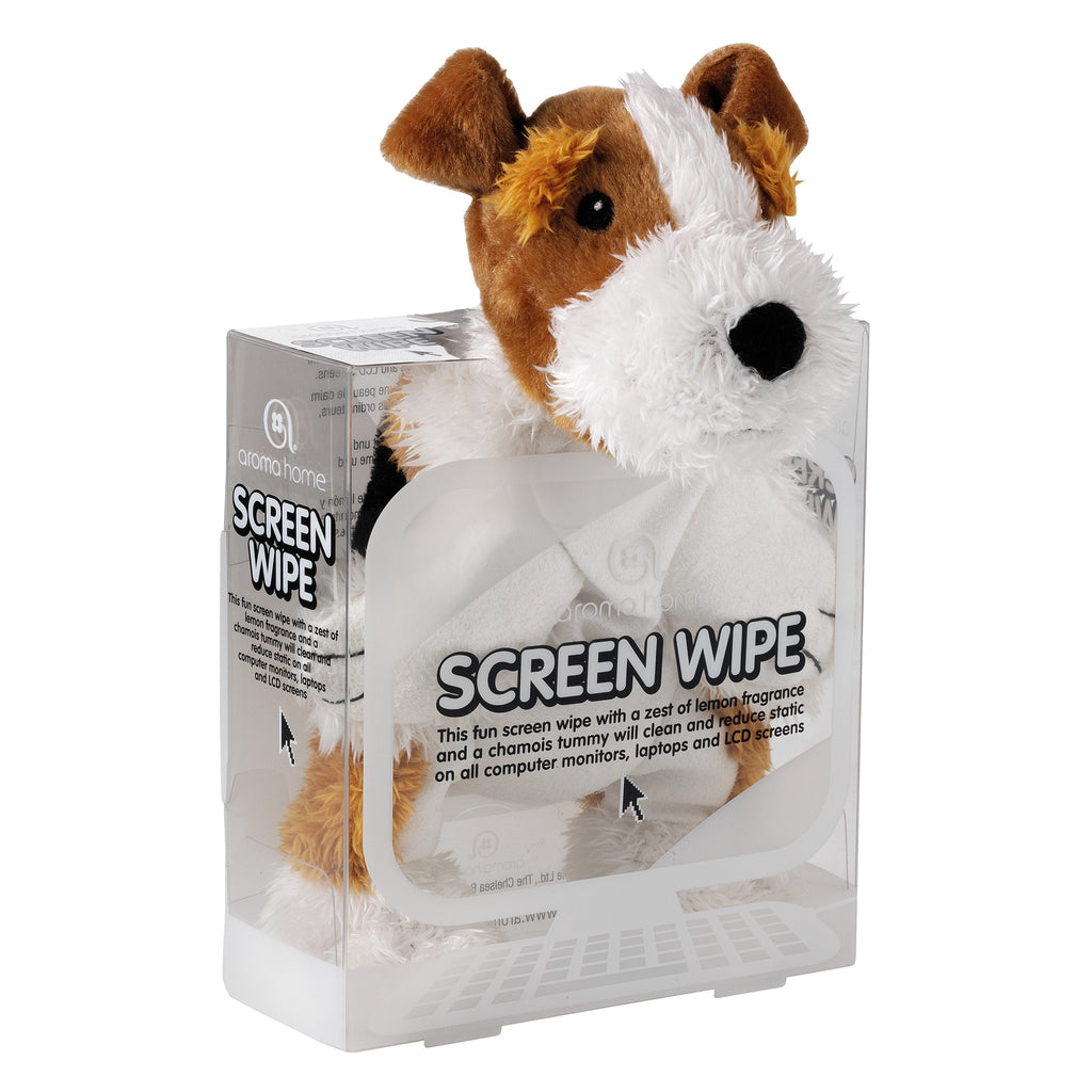 Terrier Dog Screen Wipe
