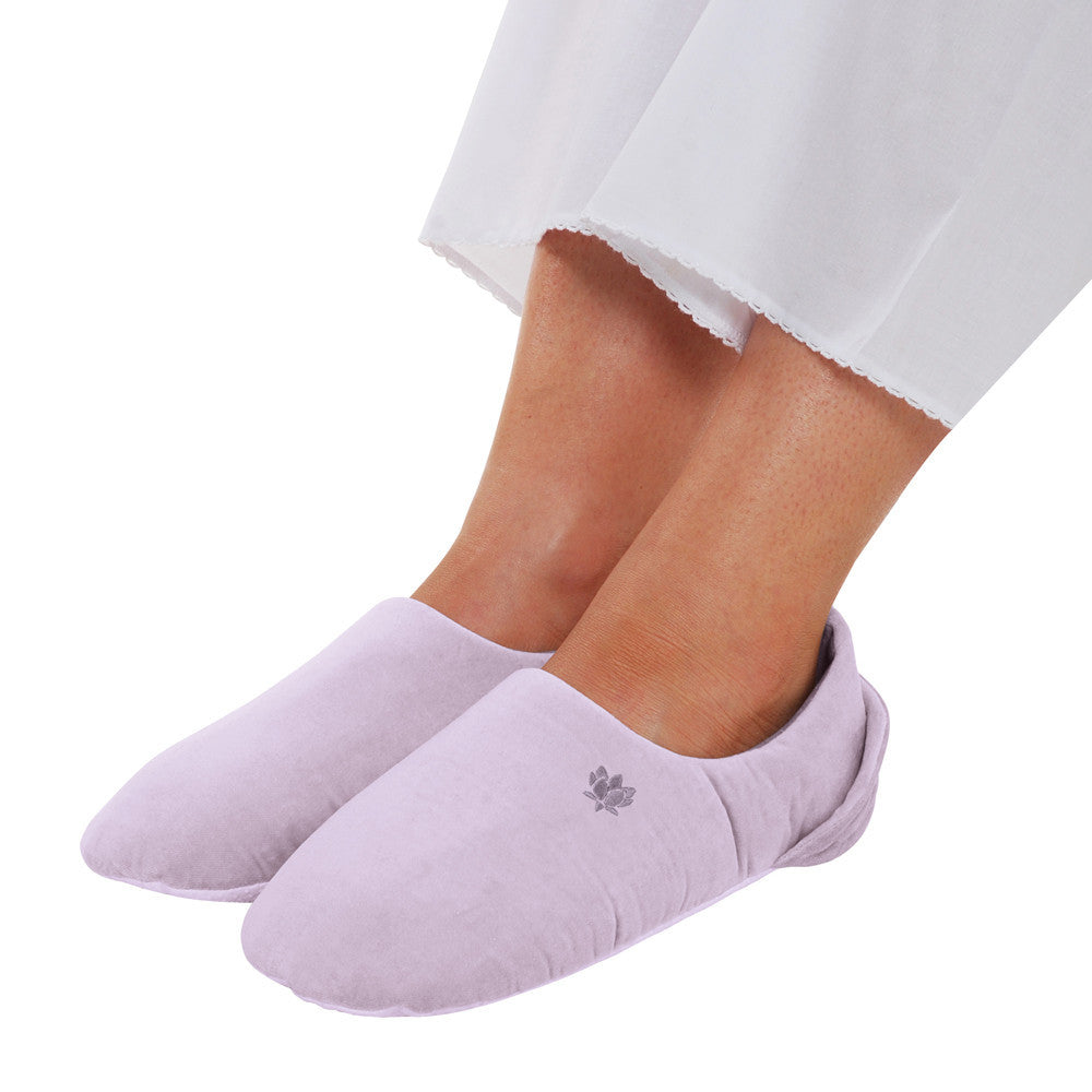 Soothing You  Lilac Feet Warmers