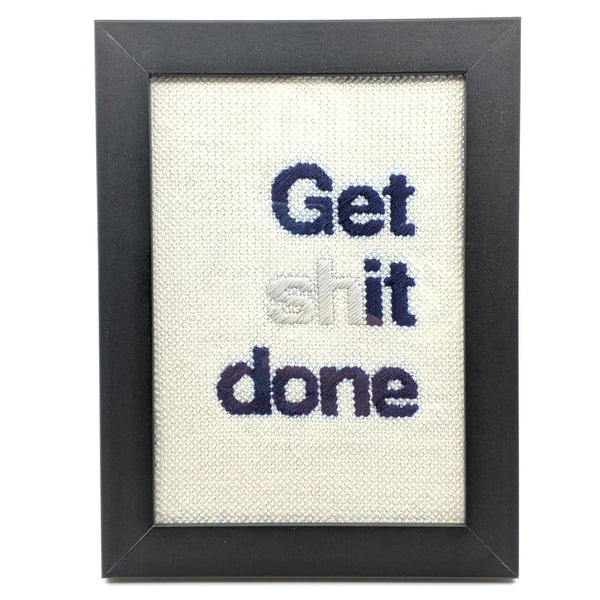 """Get 'It' Done"" Needlepoint Kit"