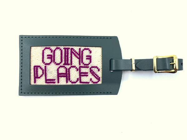 """Going Places"" Luggage Tag Kit"
