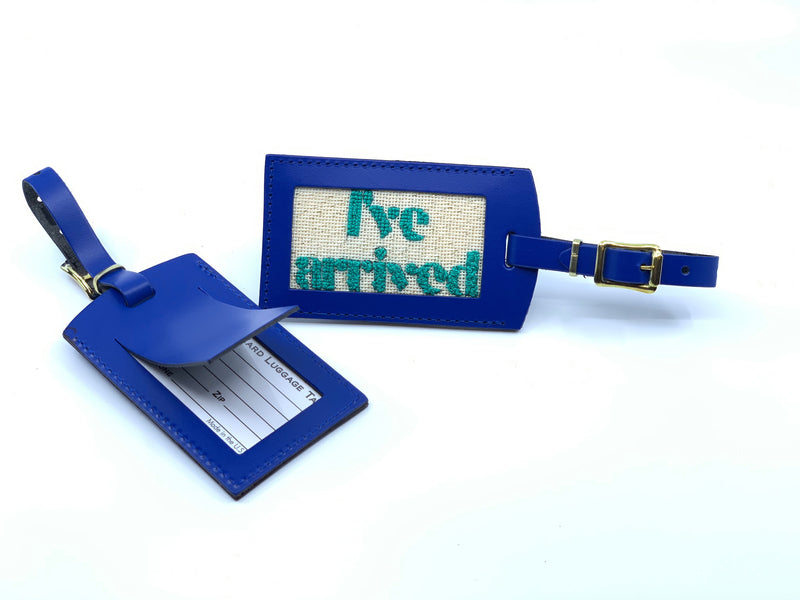 """I've Arrived"" Luggage Tag Kit"