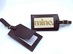 """Mine"" Luggage Tag Kit"