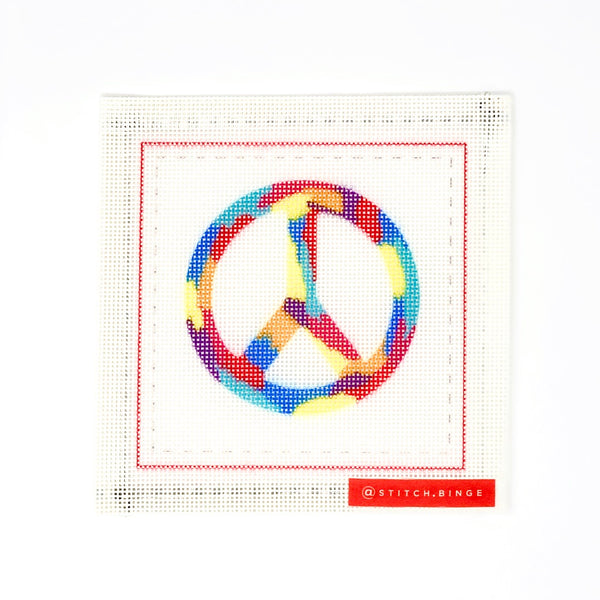 Peace Sign - Canvas Only
