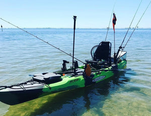 Malibu Kayaks Stealth-14 Ultimate Fishing Sit on Top Kayak | Crest Outdoors