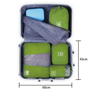 Waterproof 4PCS Packing Cube Travel Organizer Bag | Crest Outdoors