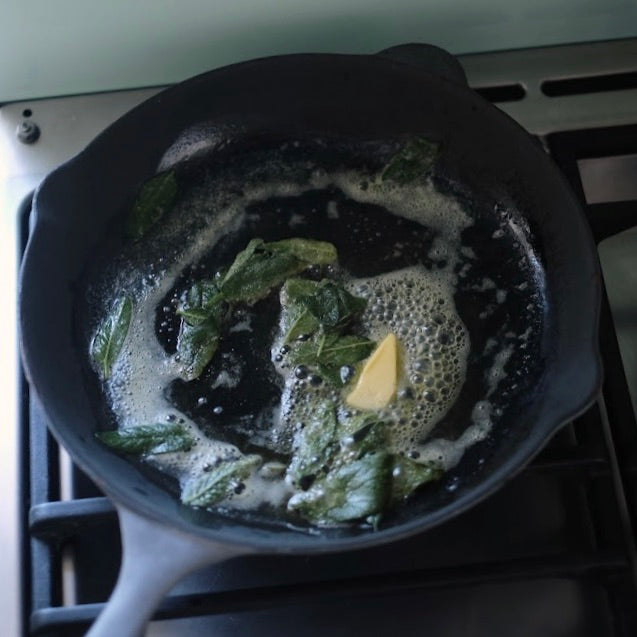 Meditation Cooking : Homemade gnocchi recipe, Sage and butter