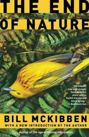 Book Cover of The End of Nature by Bill Mckibben