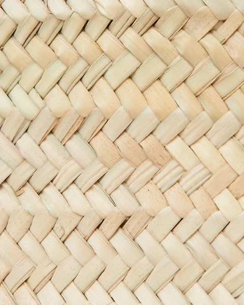 Natural material woven into a Market basket bag. French Style  | 'JENTL