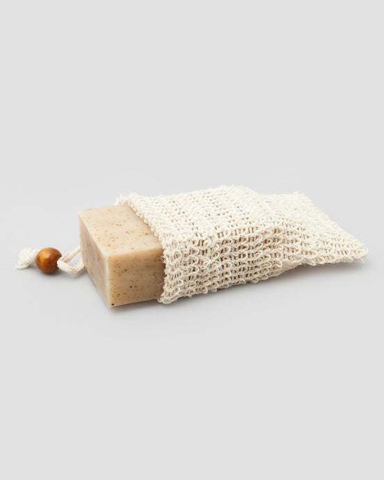 NATURAL EXFOLIATING SOAP SACK - jentl-com-au