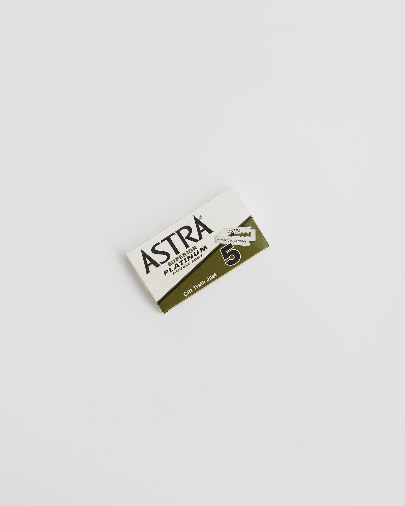 5 pack of Astra, Double Edge, Single Razor Blade | 'JENTL