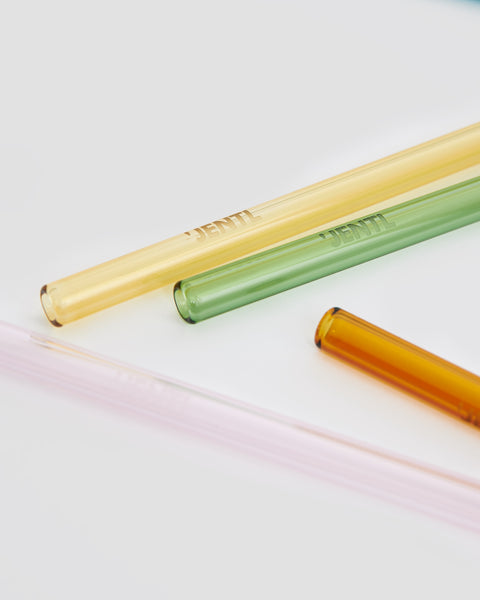Eco friendly glass drinking straws. Short for short cups | 'JENTL