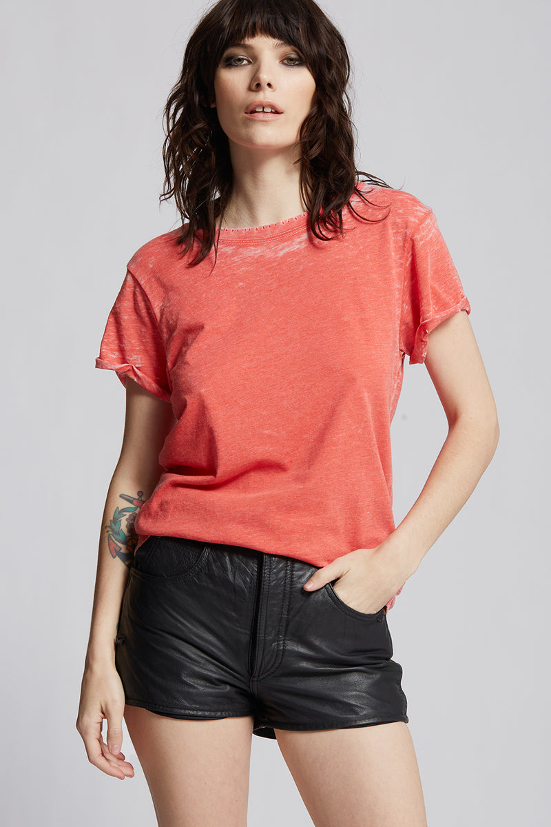 Paprika Distressed Tee