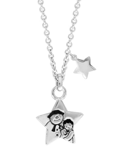 Snowman Stars Pendant Necklace - Rhona Sutton Jewellery