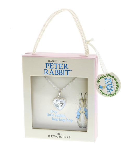 Beatrix Potter Peter Rabbit Locket Necklace - Rhona Sutton Jewellery