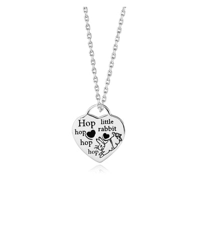 Beatrix Potter Heart Pendant Necklace - Rhona Sutton Jewellery