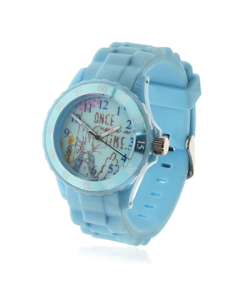 Beatrix Potter Children's Peter Rabbit Time Teacher Silicone Strap Watch - Rhona Sutton Jewellery