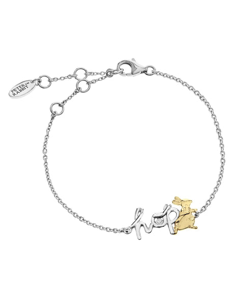 Beatrix Potter Sterling Silver Two-Tone Bracelet - Rhona Sutton Jewellery