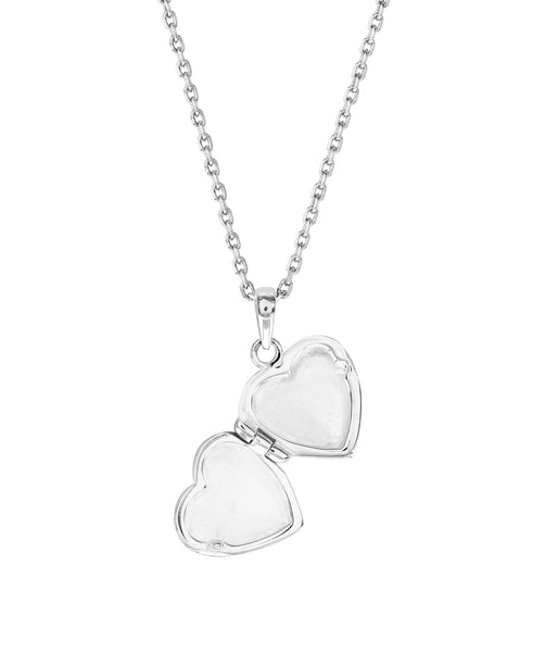 Beatrix Potter Sterling Silver Peter Rabbit Heart Locket Necklace - Rhona Sutton Jewellery