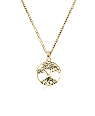 Beatrix Potter Sterling Silver Bunnies Family Tree Pendant Necklace - Rhona Sutton Jewellery
