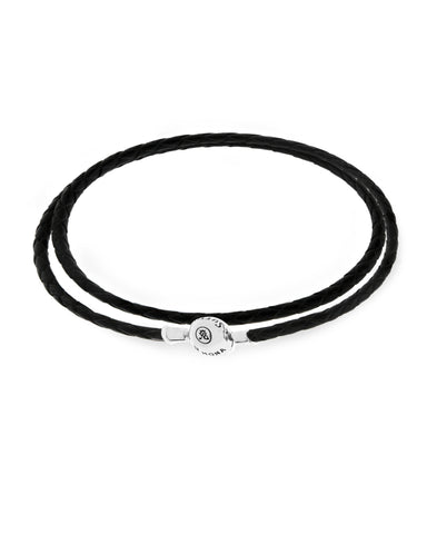 Charm Holder Leather Wrap Bracelet (3 colors) - Rhona Sutton Jewellery