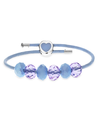 Children's Sterling Silver Premade Heart Clasp Charm Bracelet - Rhona Sutton Jewellery