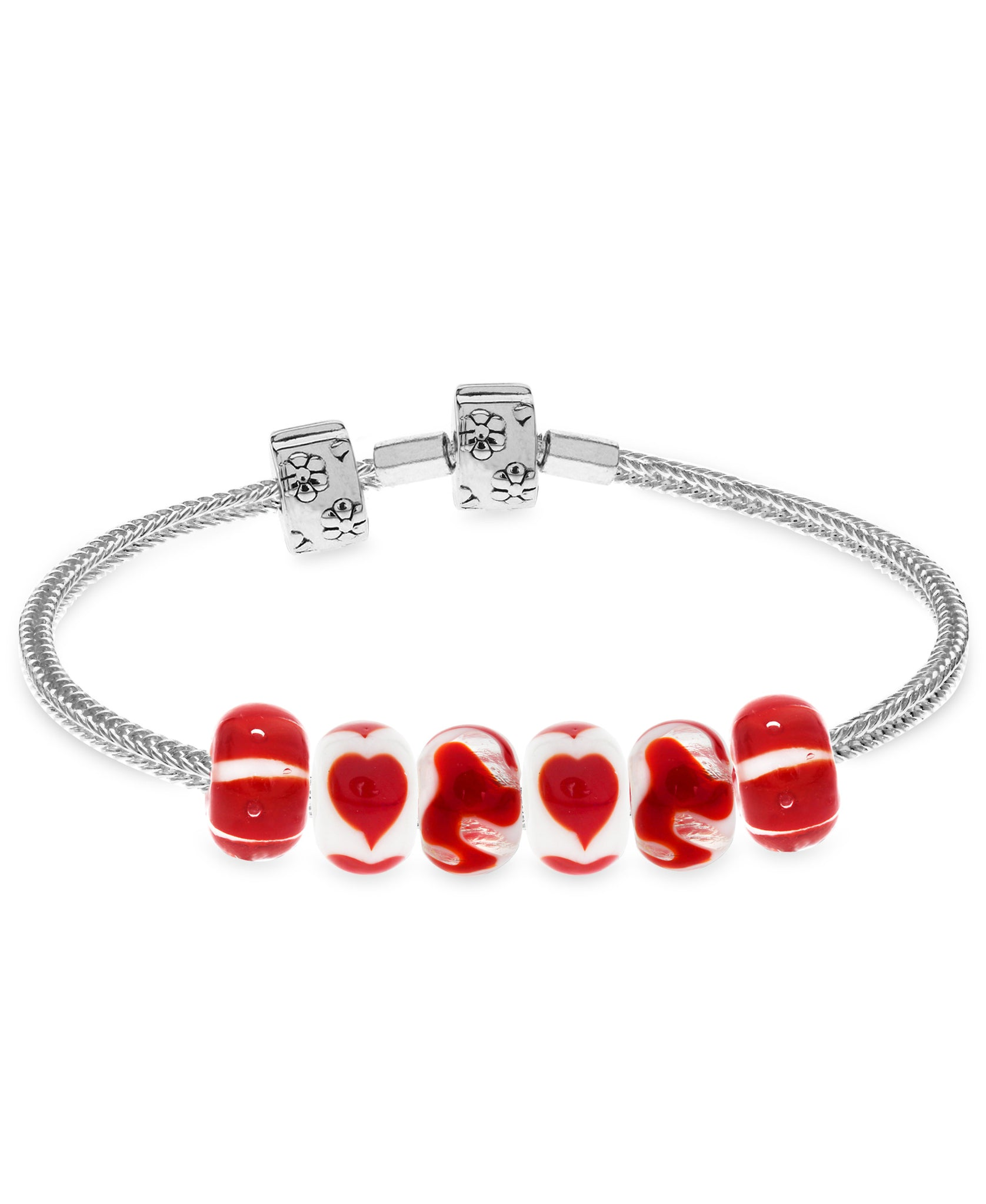 Children's Sterling Silver Premade Charm Bracelet with Stopper - Rhona Sutton Jewellery