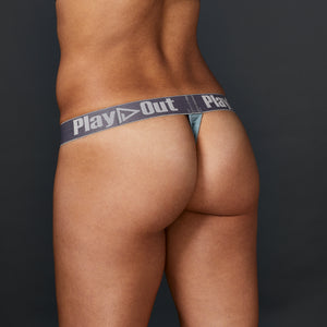 Light Blue Low Rise Thong