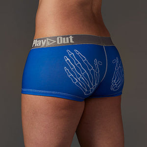 Zoe Bean Skeleton Hands Low Rise Boxer Brief