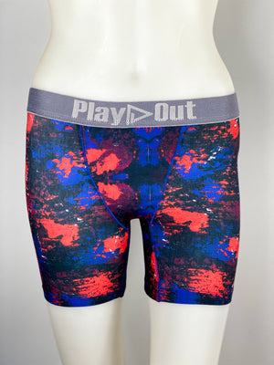 Play Out Apparel Midi Boxer Brief Harlow Print front