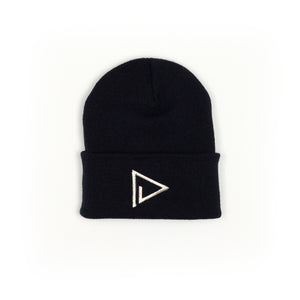 Cozy Play Out Beanie in Black & Silver