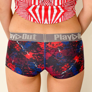 Play Out Apparel Underwear Harlow Back Low Rise Boxer Brief