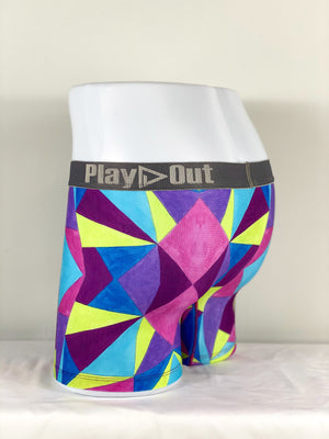 Play Out Apparel Geo Multi Midi Trunk back