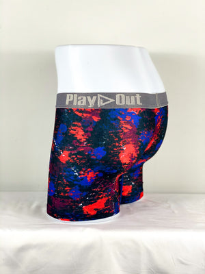 Play Out Apparel Midi Trunk Harlow Print back