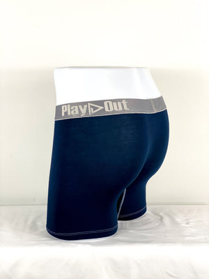 Play Out Apparel Midi Trunk Navy Blue back