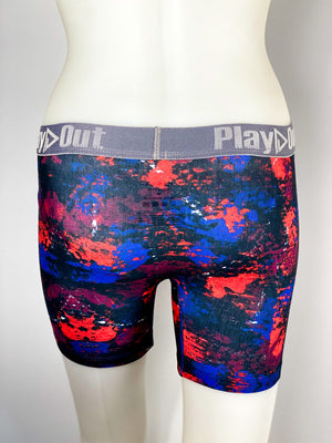 Play Out Apparel Midi Boxer Brief Harlow Print back